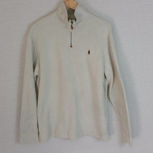 Polo by Ralph Lauren 1/4 Zip Sweater (Stains)